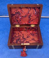 Georgian Solid Mahogany Brassbound Miniature Campaign Box (7 of 9)