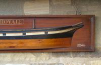 Antique Half Hull Iron Ship Royale (4 of 6)