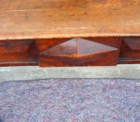 Narrow Scottish Oak Console Hall Table (3 of 7)