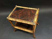 Victorian Bamboo Side Table (8 of 9)