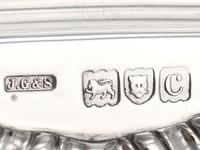 Sterling Silver Gallery Inkstand - Antique Victorian 1898 (8 of 9)
