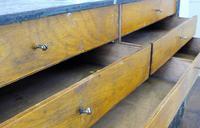Vintage Black Painted Carpenters Tool Drawers (4 of 8)