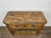 Reclaimed Wooden Sideboard with Two Drawers (5 of 10)