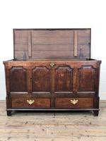 18th Century Welsh Oak Coffer with Panel Front (11 of 19)