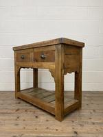 Rustic Wooden Sideboard with Two Drawers (7 of 10)