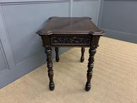 Good 19th Century Carved Oak Table (11 of 15)