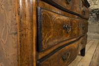 18th Century Italian Piemonte Walnut Serpentine Bureau (8 of 14)