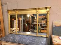 C19th Gilt Overmantel Mirror (7 of 14)