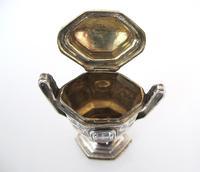 Amazing Stone Set Danish Silver Hovedvansaeg c.1819 (9 of 10)