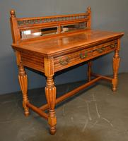 Victorian Oak Hall Table (3 of 4)
