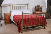 Lovely Quality Edwardian King Size All Brass Bed (2 of 3)