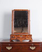 Beautiful 18th Century Walnut Toilet Mirror