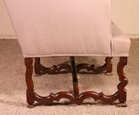 Louis XIII Sofa Called Os De Mouton in Walnut 17th Century (8 of 9)