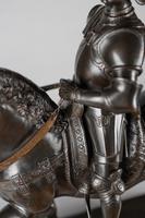 Very Large Stunning 19th Century Equestrian Bronze Sculpture of Bartolomeo Colleoni (11 of 20)