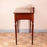 Edwardian Inlaid Mahogany 2 Drawer Side Table (9 of 15)