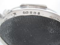 Edwardian Silver & Tortoiseshell Oval Jewellery / Trinket Box (6 of 7)