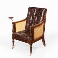 Regency Mahogany Bergère chair (6 of 8)
