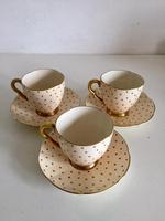 Beautiful Fine China Carlton Ware Polka Dot Coffee Set 1920's (13 of 25)