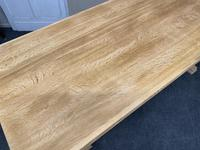 French Trestle End Refectory Farmhouse Dining Table (15 of 17)