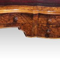 Victorian Inlaid Walnut Kidney Desk (12 of 14)