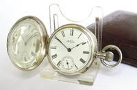 Small Silver Waltham Royal Hunter Pocket Watch (3 of 6)