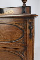 Oak Chinoiserie Dressing Chest of Drawers (13 of 13)