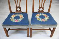 Pair of Chippendale Style Chairs (6 of 12)
