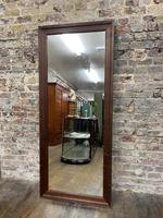 Steel Framed Mahogany Mirror (2 of 5)