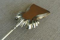 Quality Victorian Brass Fire Irons Companion Set Tongs Poker Shovel Set 18 c.1890 (7 of 9)