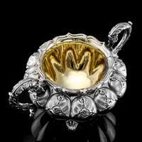 Magnificent Georgian Solid Silver Tea Set / Service 3 Piece Set - Barnard 1835 (13 of 29)
