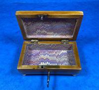 Regency Miniature Sycamore Box. (14 of 14)