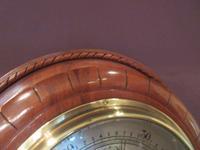 Antique Polished Mahogany Negretti & Zambra Barometer (4 of 7)