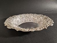 Victorian Silver Dish by William Comyns (6 of 7)