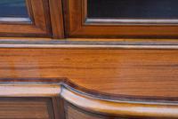 Superb, Fine Quality Edwardian Satinwood Display Cabinet c.1901 (16 of 19)