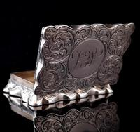 Antique silver snuff box, Deakin and Francis (11 of 12)
