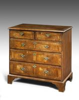 George II Period Walnut Chest of Drawers