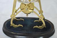 Victorian Skeleton Clock Passing Strike (3 of 5)