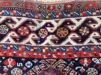 Antique Qashqai Rug 1.47m x 1.04m (14 of 17)