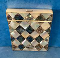 Victorian Abalone & Mother of Pearl Card Case (10 of 15)
