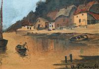 Wonderful Original 19th Century Antique Seascape Landscape Watercolour Painting (5 of 12)