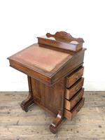 Late Victorian Inlaid Rosewood Davenport Desk (3 of 17)