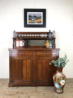 Antique Mahogany Sideboard with Mirror Back (2 of 13)
