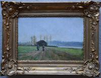 Paul LECOMTE (1842-1920) French School Normandy