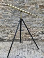 Antique Broadhurst Clarkson & Co Brass Telescope on Tripod (7 of 14)