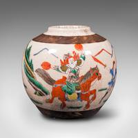 Small Antique Flower Vase, Japanese, Ceramic, Posy Urn, Edo Period c.1850 (2 of 12)