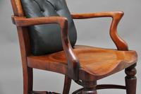 19th Century Heals of London library chair (8 of 10)