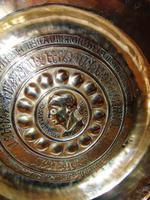 16th. century Nuremberg brass alms dish (3 of 6)