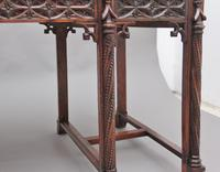 19th Century French Oak Desk in the Gothic Style (16 of 17)