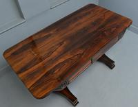 Stunning William IV Rosewood Library / Writing Table (7 of 22)