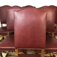 French Os De Mutton Set of 6 Dining Chairs (6 of 14)